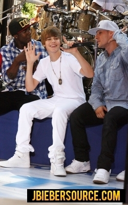Justin Bieber on Today 显示