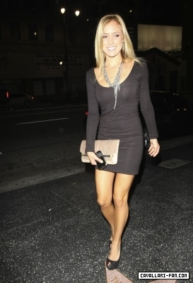 Kristin Leaving Katsuya restaurant in Hollywood (4/6/2010) - the-hills Photo
