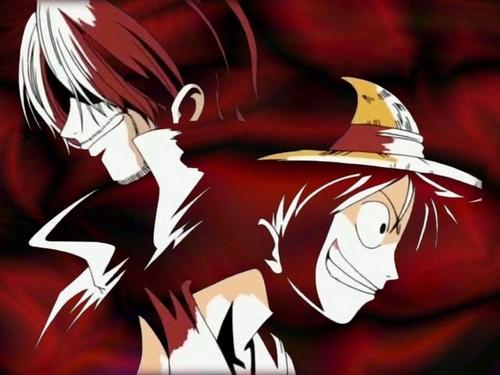 Luffy & Shanks