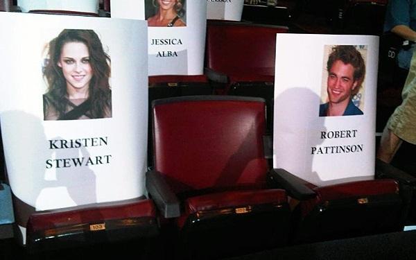 엠티비 Movie Awards Seating Arrangement