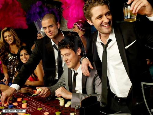 Mark, Cory & Mattew Casino Night