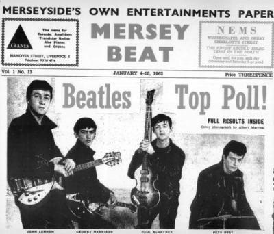 Mersey Beat Newspaper, 1962
