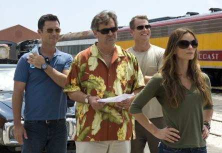 Michael, Sam, Fiona, and Harlan