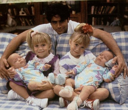 Full House images Michelle, Jesse, & the twins wallpaper and background photos