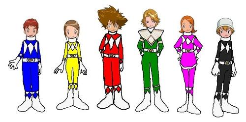Mighty Morphin Digi Rangers