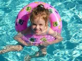 Nessie in the pool