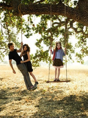 Nessie with Bella and Edward