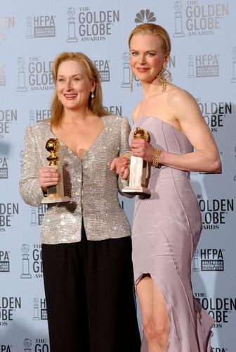 Nicole Kidman Golden Globe Award Best Actress for The Hours