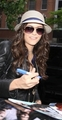 Nina Dobrev @ The PIX11 Morning News in NY