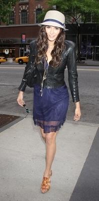 Nina Dobrev @ The PIX11 Morning News in NY