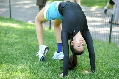 Nina Dobrev Working on Her Fitness