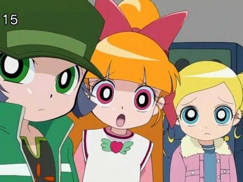 powerpuff girls Z achtergrond entitled PPGZ