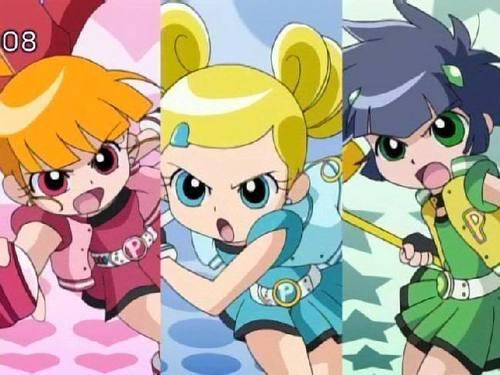 powerpuff girls Z 壁紙 called PPGZ