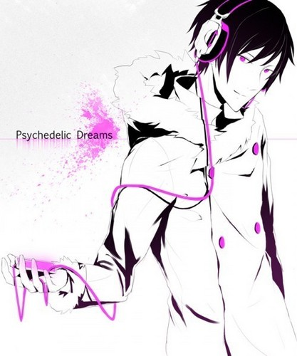 1Izaya Orihara 壁紙 entitled Psychedelic Dreams