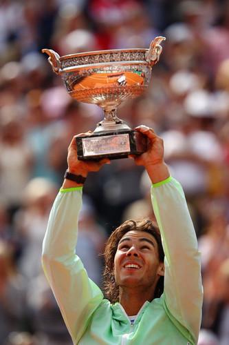 Rafa Nadal won Roland Garros!