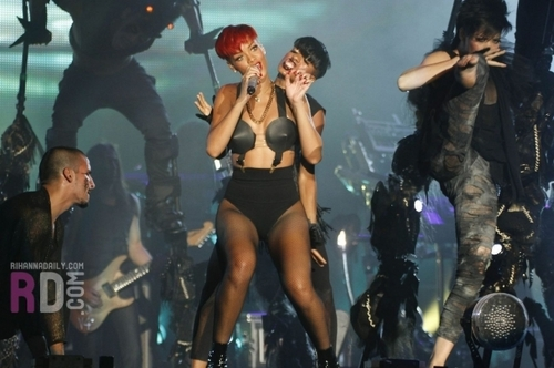 Rihanna Rock In Rio, Spain - June 5, 2010