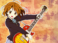 Rock It! Yui - k-on wallpaper
