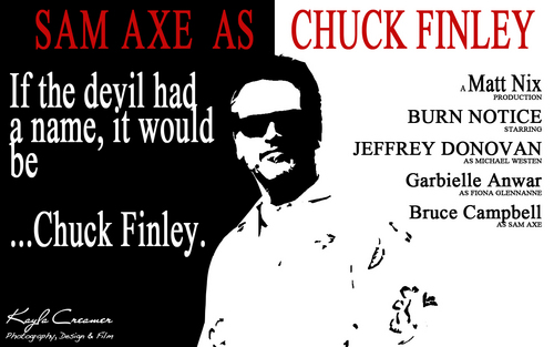 Sam Axe/Chuck Finley wallpaper