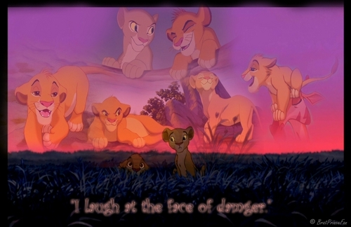Simba - I Laugh At The Face Of Danger - the-lion-king Fan Art