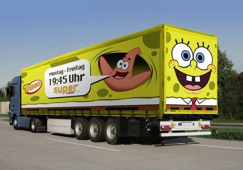 Spongebob Truck