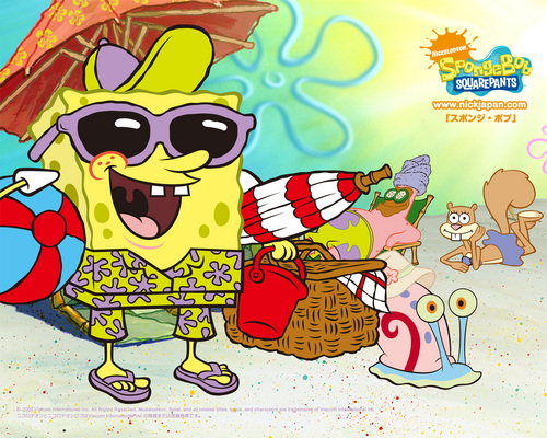 Spongebob Squarepants wallpaper called Summer