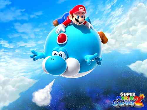 Nintendo wallpaper entitled Super Mario Galaxy 2