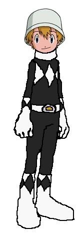 TK - Mighty Morphin Black Ranger