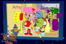 Team Atomic Betty as Team Rose from Sonic নায়ক