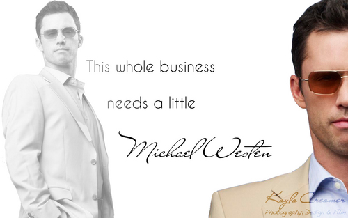 This Whole Business Needs a Little Michael Westen Обои