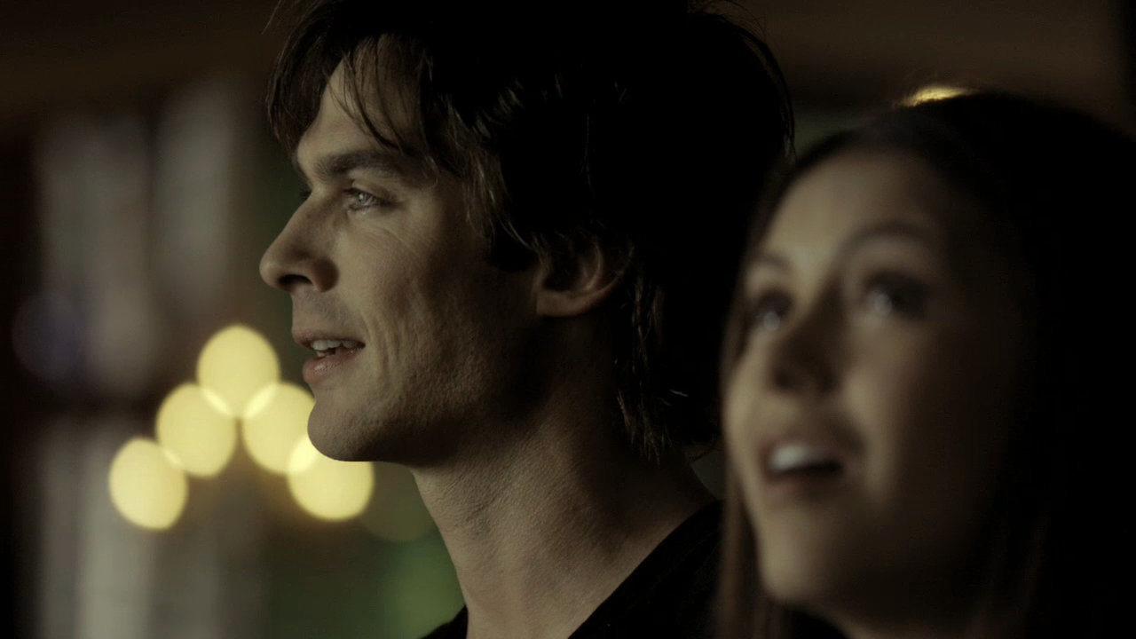 vampire diaries elena and damon first meet