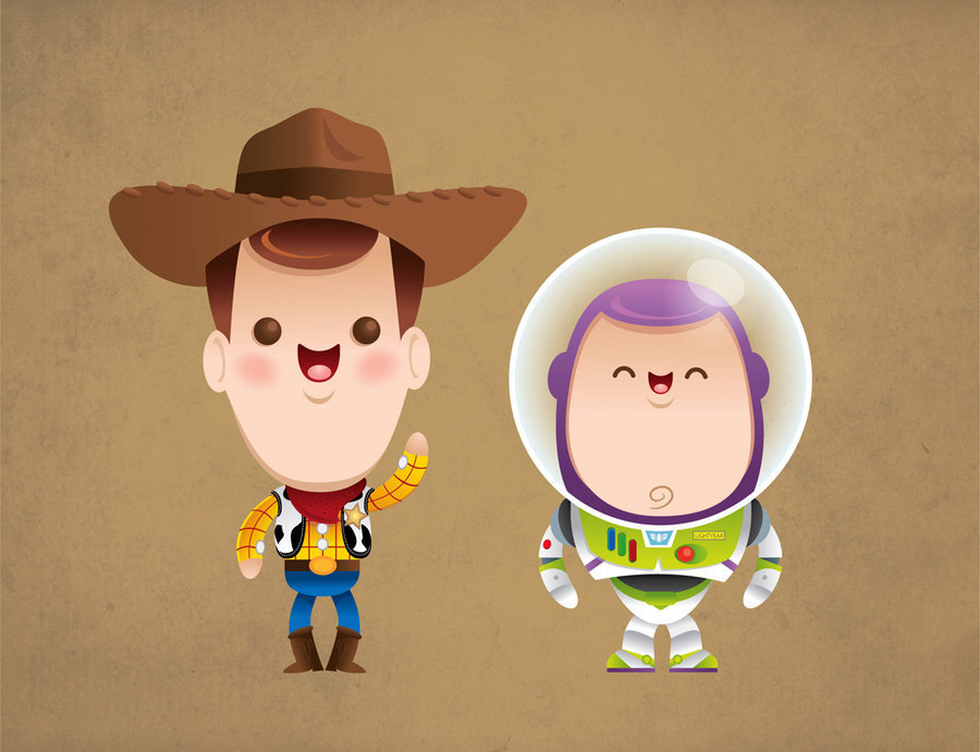 Disney images Woody and Buzz HD wallpaper and background ...