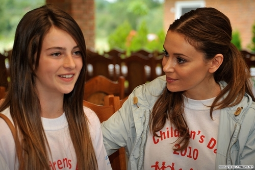 alyssa milano in mitrovica, kosovo with unicef >> 2010