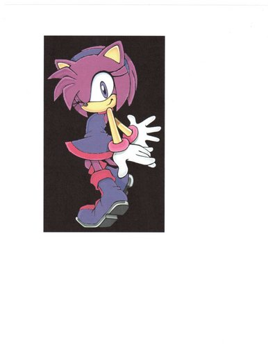 amelia rubin the hedgehog (pose 2)