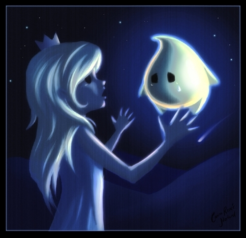 don't cry little luma, I'll find your Mama.