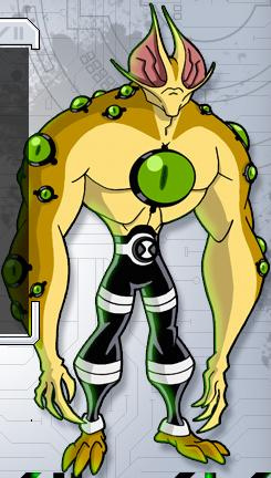 Ben 10 wallpaper titled eye guy