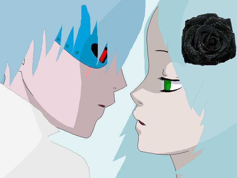 human blowhole and nori kiss