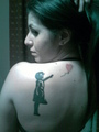 my tattoo - banksy photo