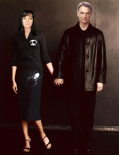 pauley & mark (abby and gibbs) manip - abby-sciuto Fan Art