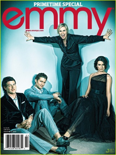 'Glee' Cast Covers 'Emmy' Issue No. 3