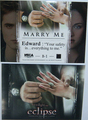 "New Eclipse Trading Card - ""Marry Me""   - twilight-series photo"