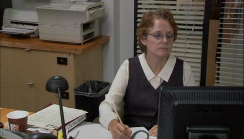 the office wallpaper entitled 1x06- Hot Girl