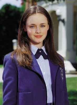 Gilmore Girls karatasi la kupamba ukuta called Alexis Bledel Season 1 promotional stills