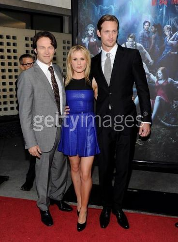 Anna, Alex and Stephen - Season 3 Red Carpet Premiere