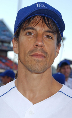 Anthony Kiedis dodgers