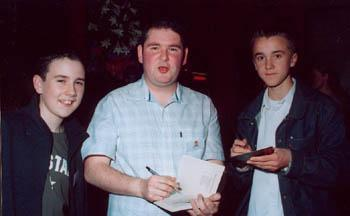 Appearances > 2003 > Darren Shan Book Release
