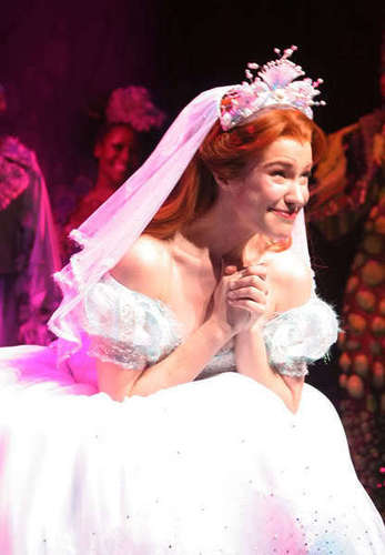 The Little Mermaid On Broadway Images Ariel In Her Wedding