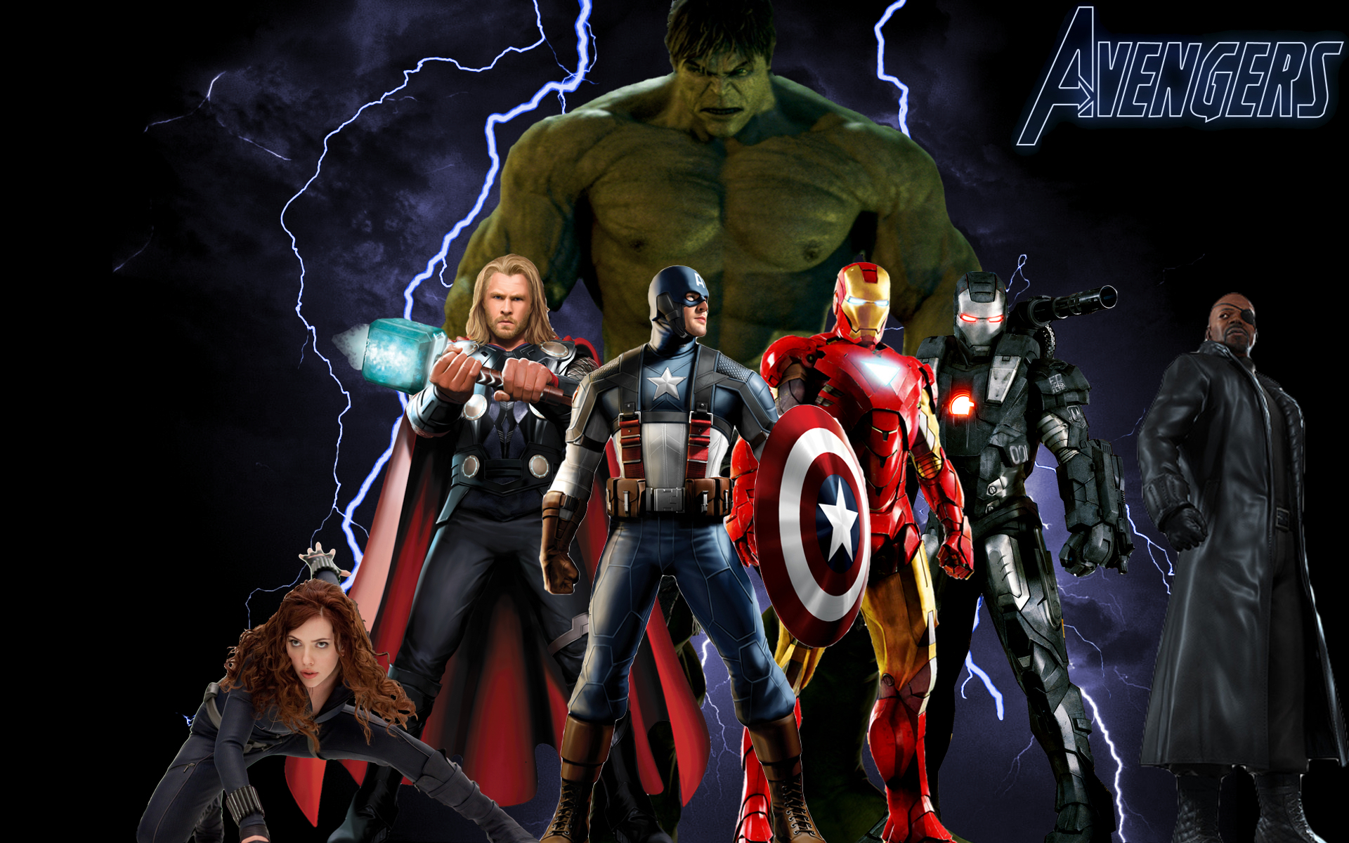Avengers Desktop The Avengers Fan Art 12873866 Fanpop