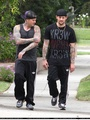 BENJI AND JOEL OUT FOR A STROLL (08TH JUNE 10) - good-charlotte photo