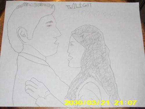Bella and Edward DRAWB
