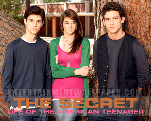 The Secret Life of the American Teenager wallpaper entitled Ben,Amy and Ricky